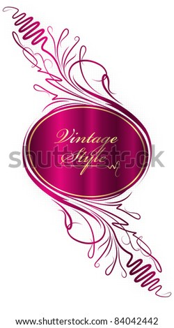 Classic Background - stock vector