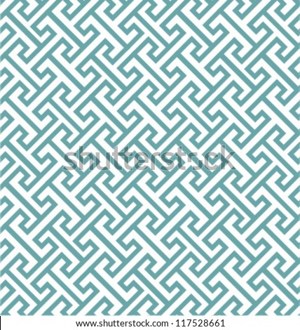 CLASSIC ELEGANT GEOMETRIC PATTERN. Vector file. - stock vector