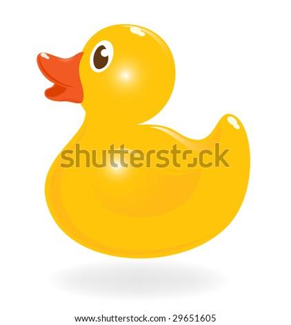 Rubber Duck Vector Black Classical Rubber Duck Vector