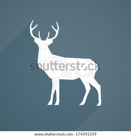 Clean Stag Illustration