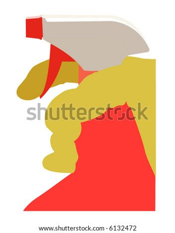 cleaning - stock vector