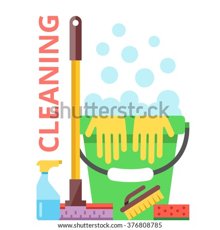 Water cleaning stock images royalty free images vectors for Modern cleaning concept
