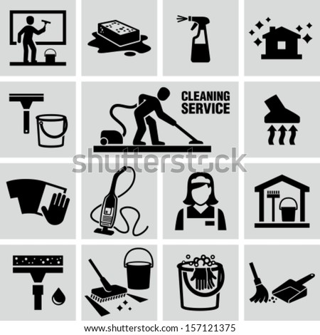 Cleaning Icon Stock Images Royalty Free Images Vectors