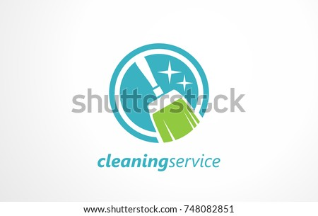 Cleaning Service Logo Maintenance The Office Sign Symbol For Living Space