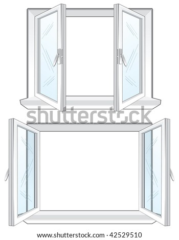 Clear Plastic Window Frame