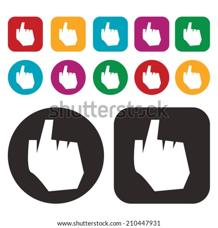 click icon / hand icon / pointer icon