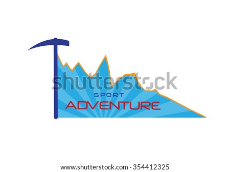 Climbing equipment ,Vector illustrations - stock vector