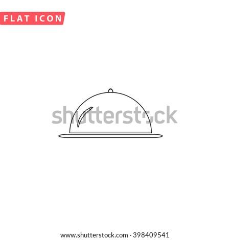 Cloche Icon Vector. Cloche Icon JPEG. Cloche Icon Picture. Cloche Icon Image. Cloche Icon Graphic. Cloche Icon Art. Cloche Icon JPG. Cloche Icon EPS. Cloche Icon AI. Cloche Icon Drawing - stock vector