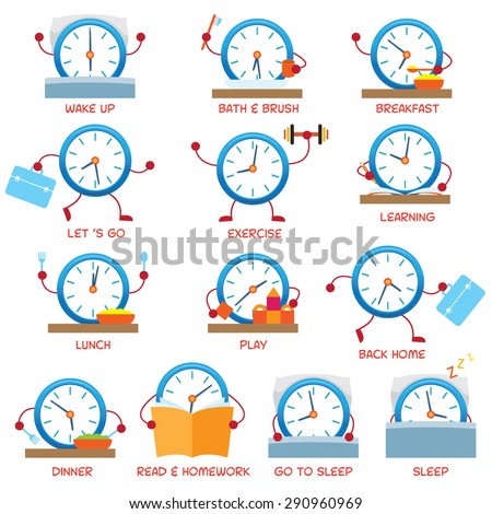 Daily Routine Stock Images Royalty Free Images Amp Vectors