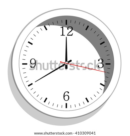 Clock icon,  - stock vector
