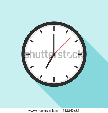 Clock icon. Clock icon eps. Clock icon vector. Element for web design and other purposes. - stock vector