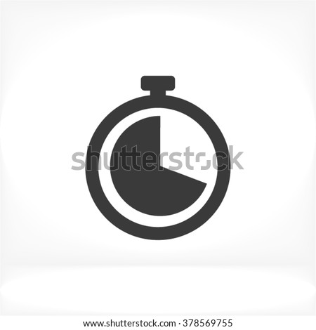 Clock Icon, clock icon flat, clock icon picture, clock icon vector, clock icon EPS10, clock icon graphic, clock icon object, clock icon JPEG, clock icon picture, clock icon image, clock icon drawing - stock vector