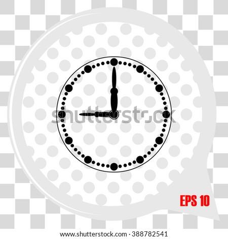 Clock Icon / Clock Icon Vector / Clock Icon Object / Clock Icon Picture / Clock Icon Image / Clock Icon JPG / Clock Icon JPEG / Clock Icon EPS / Clock Icon Drawing / Clock Icon Graphic / Clock Icon AI - stock vector