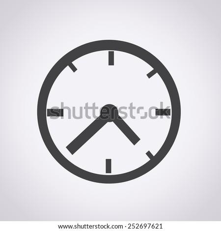 Clock Icon ,clock,  time icon, clock face,  clock vector, watch  - stock vector