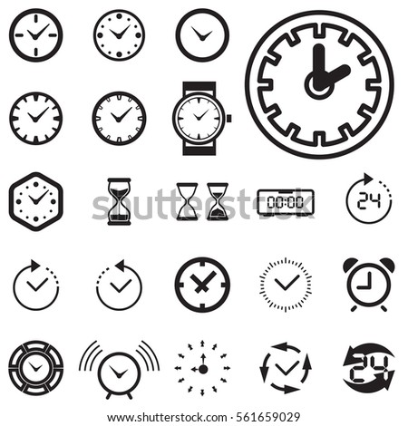how to set a timer clock