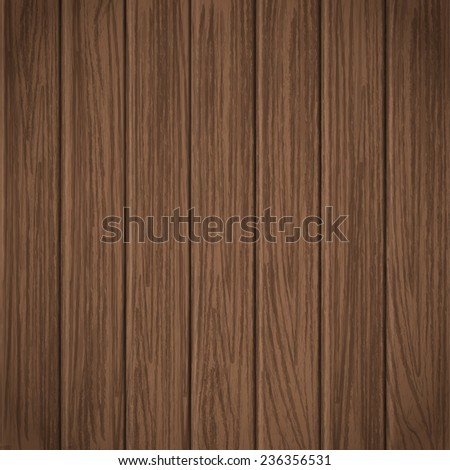 close-up look at wooden plank texture background  - stock vector