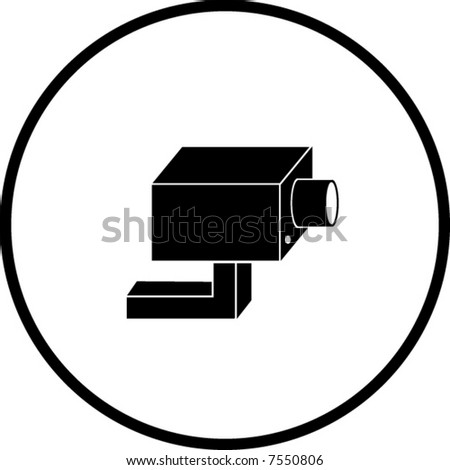 Closed Circuit Television System Security Camera Stock Photo Photo