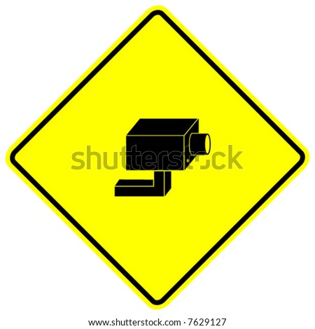 Closed Circuit Television System Security Camera Stock Vector
