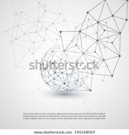 Cloud Computing and Networks Concept - stock vector