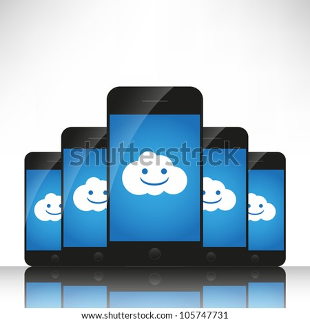 Cloud computing on mobile