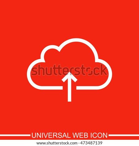 Cloud download icon.