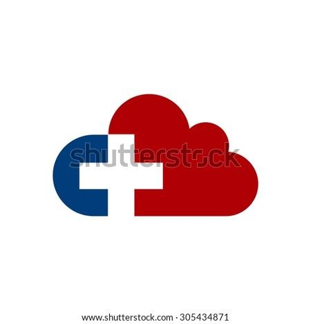 Cloud Logo Cloud Computing Template Creative Stock Vector ...
