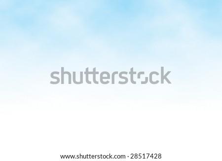 cloudy blue sky vector - stock vector