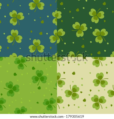 Clover pattern set
