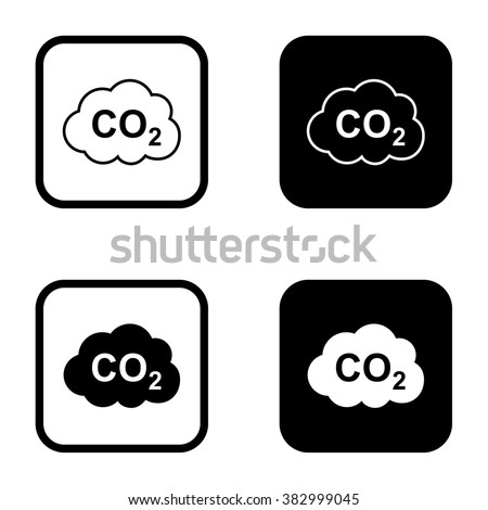 co2 outline