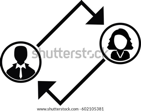 coaching icon stock vector 602105381 shutterstock