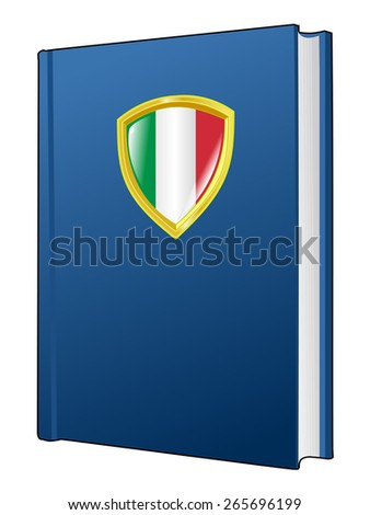 code of laws of Italy - stock vector