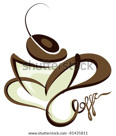 coffee (also available jpeg version) - stock vector