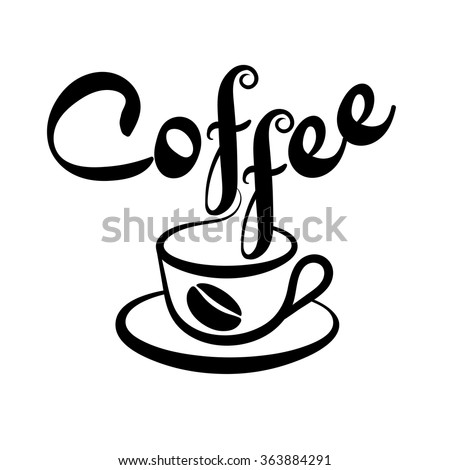 Coffee. Coffee Cup. Coffee Beans. Coffee Cup Icon. Coffee Cup Vector. Coffee Cup Silhouette. Coffee Cup Vintage. Coffee Cup Background. Coffee Image. Coffee Drink. Coffee logo. Coffee logo  Art   - stock vector