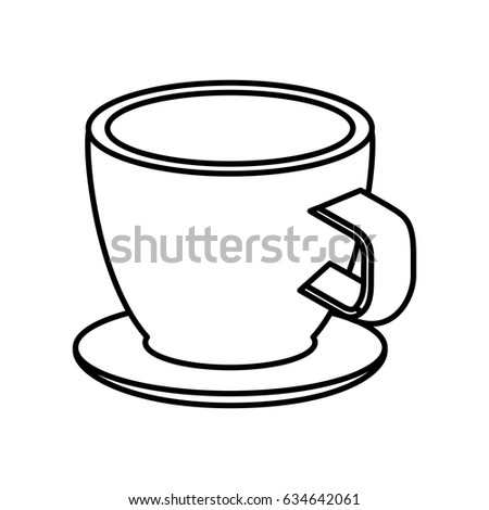 Coffee Cup Isometric Icon Stock Vector 634642061 - Shutterstock