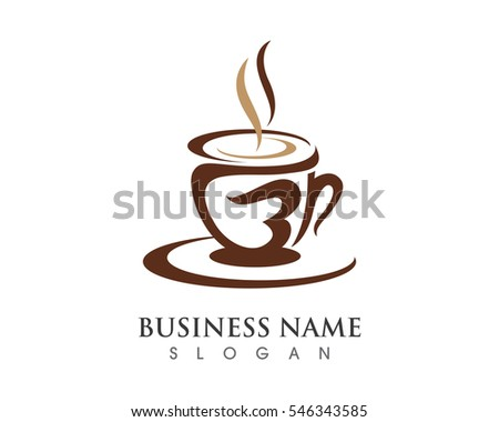 coffee cup logo template - photo #41