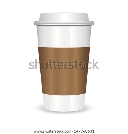 Coffee cup with  - stock vector