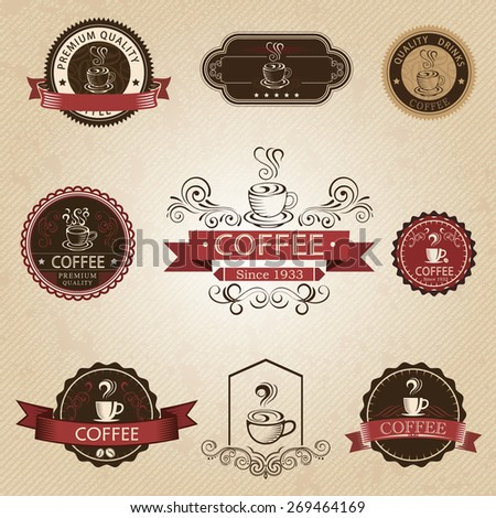 Coffee design elements