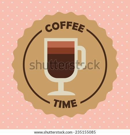 coffee design , vector illustration - stock vector