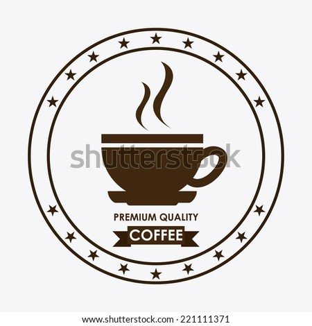 coffee graphic design , vector illustration