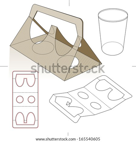 Candy Box Packaging Template And Logo We Design Packaging Shutterstock