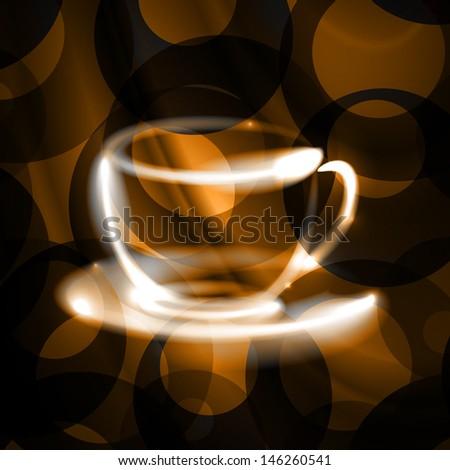 coffee house - stock vector