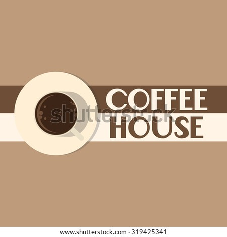 Coffee house badges logos and labels can be used to design signage bistro, restaurant, fast food, on business cards and branding - stock vector