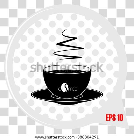 Coffee Icon / Coffee Icon Object / Coffee Icon Picture / Coffee Icon Image / Coffee Icon Graphic / Coffee Icon Art / Coffee Icon JPG / Coffee Icon JPEG / Coffee Icon EPS / Coffee Icon AI - stock vector