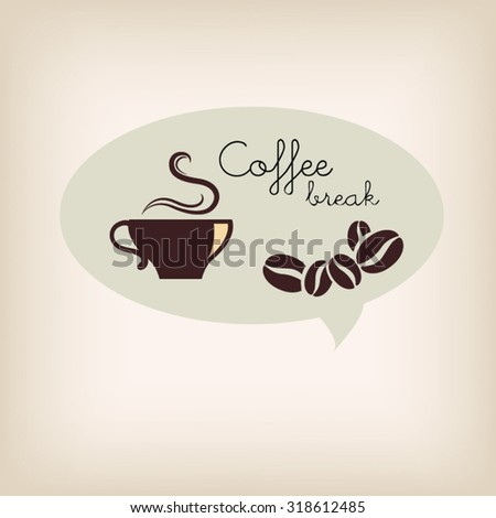 Coffee  logo design. Vector illustration.