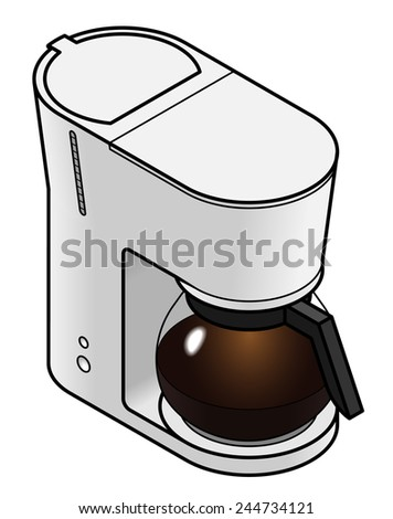Coffee machine / drip percolator.