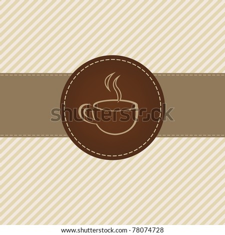 Coffee Menu, Vector Illustration