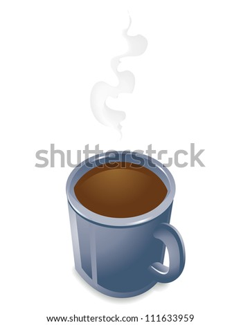 Coffee Mug - stock vector