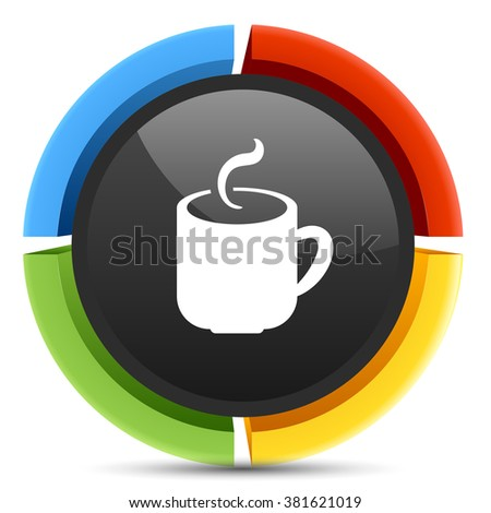 coffee  mug  button