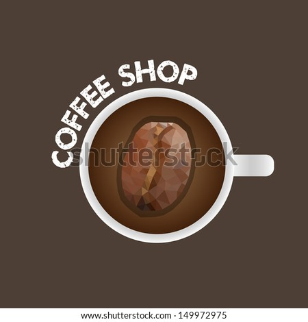Coffee Shop Banner - Vector Illustration - Infographic Element - stock vector
