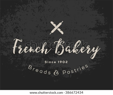 Coffee Shop, Pastry Shop, Bakery Or Confectionery Business Sign, Menu Label  Or